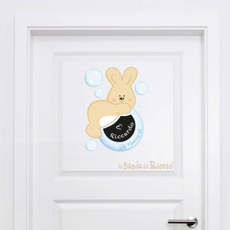 """Soap Bubbles"" (Door Decal)"