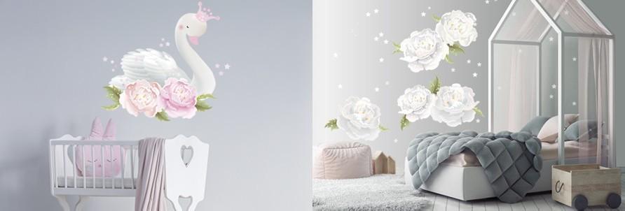 Romantik - Wall decor per bambini che amano sognare